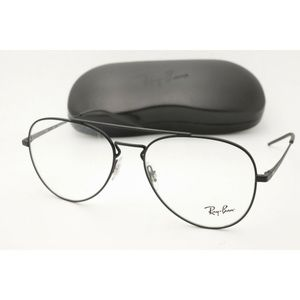 New Ray Ban RB 6413 Eyeglasses 3044 Black Frame